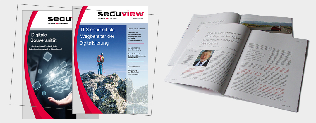 secuview Kundenmagazin IT-Branche